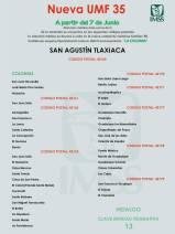 IMSS Hidalgo informa sobre cambios de adscripción para la nueva UMF 35 1