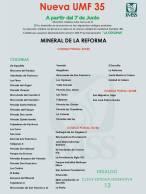 IMSS Hidalgo informa sobre cambios de adscripción para la nueva UMF 35 4