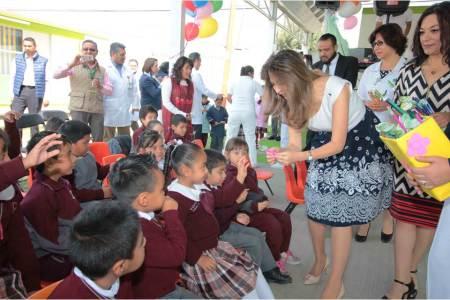 IMSS Hidalgo realiza Primer Encuentro ChiquitIMSS Jr. en jardín de niños