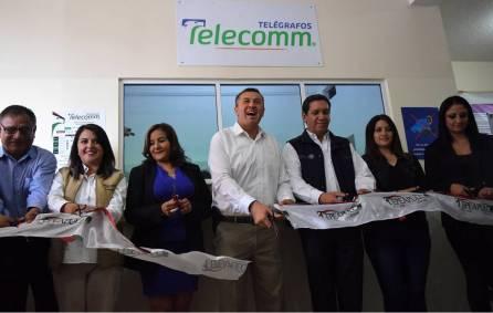 Inaugura Alfonso Delgadillo Sucursal de Telecomm- Telégrafos en cabecera municipal2