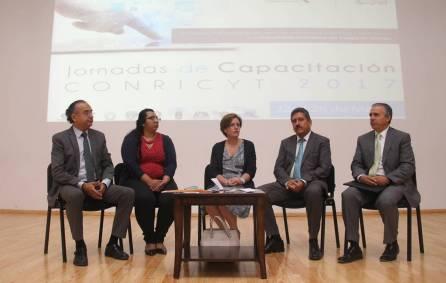 Inaugura UAEH jornadas de capacitación del CONRICyT1