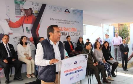 Liconsa inaugura nuevo punto de venta en Pachuquilla