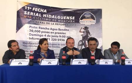 Mineral de la Reforma listo para la 11° fecha del serial de ciclismo de montaña.jpg