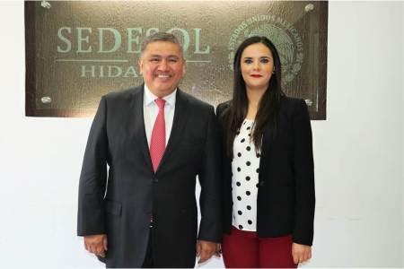Montserrat Ortiz Segovia nueva coordinadora del Programa Comedores Comunitarios de la SEDESOL Delegación Hidalgo