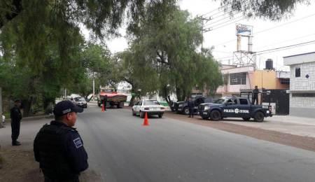 Operativos coordinados en Tizayuca, para contribuir en prevenir delitos