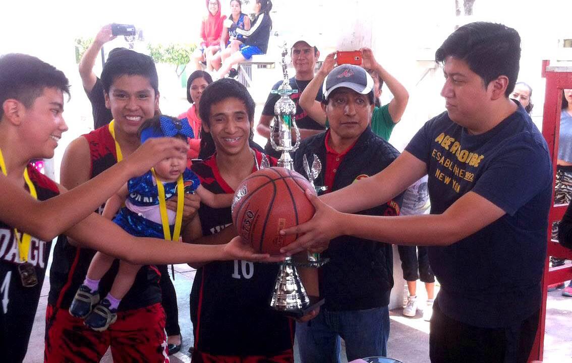 Baloncesto El Deporte Rafaga: Panteras Pachuca Campeón Estatal Del Deporte Ráfaga