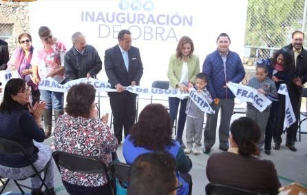 Raúl Camacho entrega Cancha de usos múltiples en Fraccionamiento Villa Virreyes1