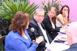 Representantes de diversas embajadas visitan el Centro de Justicia para Mujeres de Hidalgo