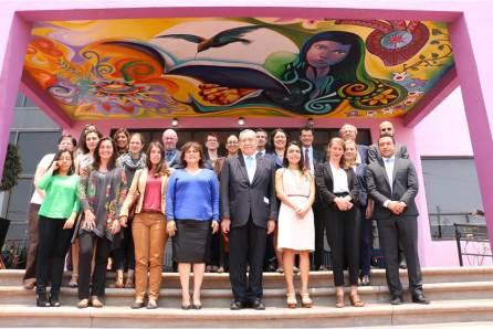 Representantes de diversas embajadas visitan el Centro de Justicia para Mujeres de Hidalgo4