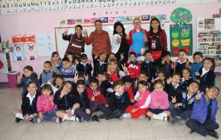 Sayonara Vargas visita el CENDI 2