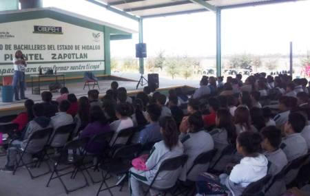 Seguridad Pública de Hidalgo lleva prevención del delito a las escuelas