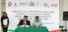 Ayuntamiento y CANACINTRA Tizayuca firman convenio en materia de Inclusión y Equidad de Género4