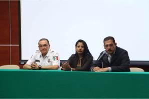 Brindan conferencia en delitos cibernéticos ante personal de la SSPH y cadetes