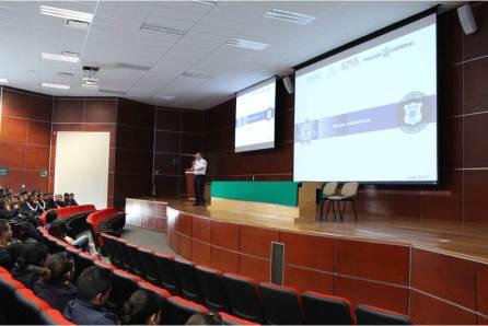 Brindan conferencia en delitos cibernéticos ante personal de la SSPH y cadetes4