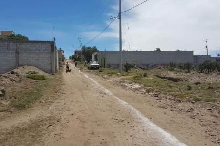 CAAMTH construye drenaje sanitario en la calle Margarito Rodríguez Jacinto2