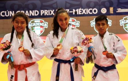 Con un oro, una plata y un bronce debutó judo en la Olimpiada Nacional 2