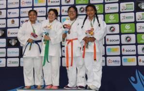 Con un oro, una plata y un bronce debutó judo en la Olimpiada Nacional 4