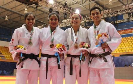 Con un oro y tres bronces cerró el judo en Olimpiada Nacional y Nacional Juvenil1