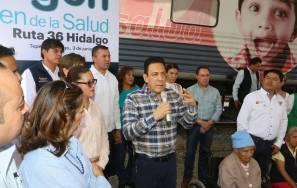 Cumplimos y cumplimos bien si la salud está atendida en Hidalgo6