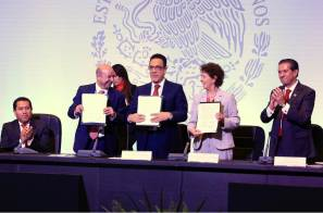 En presencia de Omar Fayad, firman convenio para impulsar actividades artísticas y culturales en penales federales