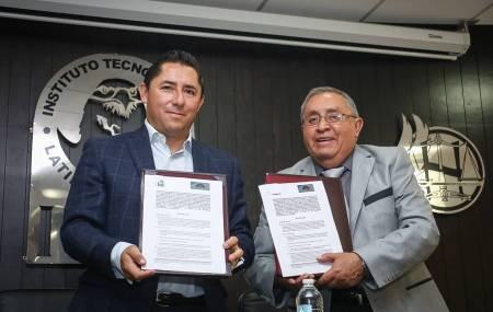 Encabeza Raúl Camacho convenio de colaboración con ITLA en beneficio de trabajadores del gobierno municipal  1.jpg