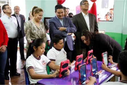 """Encabeza Sayonara arranque en Hidalgo del programa """"Aulas Hermanas de la Ciencia""""4"""