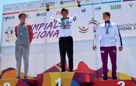Fernando Islas refrendó el oro en la contrarreloj en el Nacional Juvenil  1.jpg