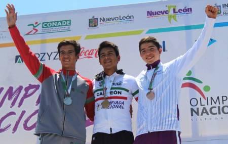 Fernando Islas refrendó el oro en la contrarreloj en el Nacional Juvenil  2.jpg