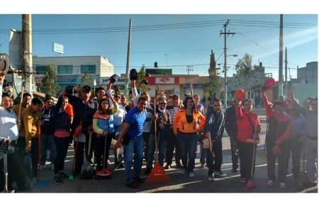 Funcionarios municipales de Mineral de la Reforma encabezan macro jornada de
