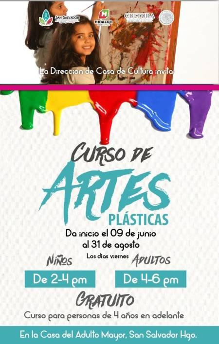 Gobierno municipal de San Salvador convoca al curso de artes plasticas.jpg