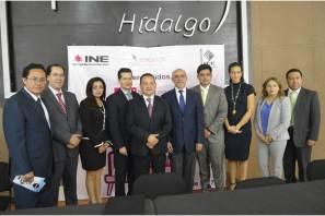 IEE y el INE iniciaron en Hidalgo mesas de trabajo Diálogos para una Cultura Cívica