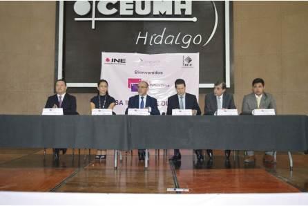 IEE y el INE iniciaron en Hidalgo mesas de trabajo Diálogos para una Cultura Cívica4