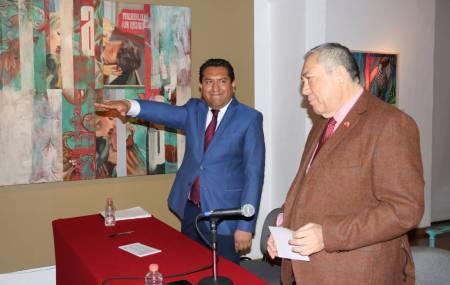 José Olaf Hernández Sánchez, nuevo secretario de cultura en Hidalgo1