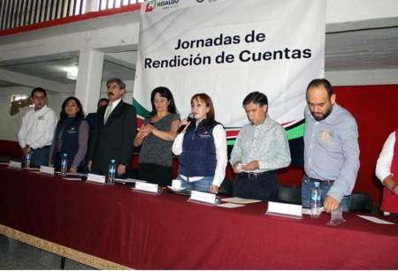 La Contraloría de Hidalgo trabaja de la mano con alcaldes para la mejora en rendición de cuentas