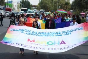Llevan a cabo la Primera Marcha LGBTTTI en Tizayuca