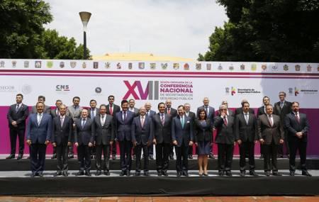 Participa Mauricio Delmar en Conferencia Nacional de Secretarios de Seguridad en Michoacán