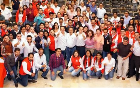 Preside Alberto Meléndez Apodaca la Asamblea Estatal de Red Jóvenes por México2