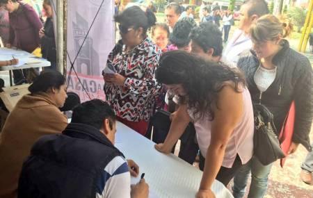 Presidencia Municipal de Pachuca y Sedeco realizan la tercera edición del programa Empleo a tu casa