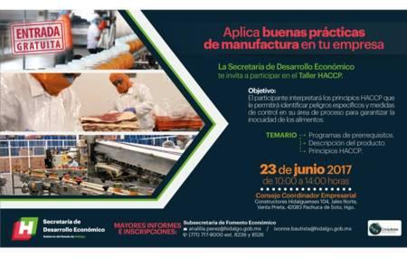 Promueve SEDECO taller HACCP para proveedores localesde alimentos y bebidas.jpg