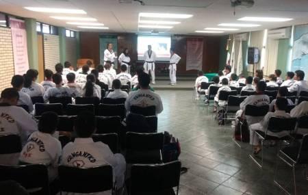 Se lleva a cabo en el ITESA primer seminario de Tae Kwon Do1.jpg