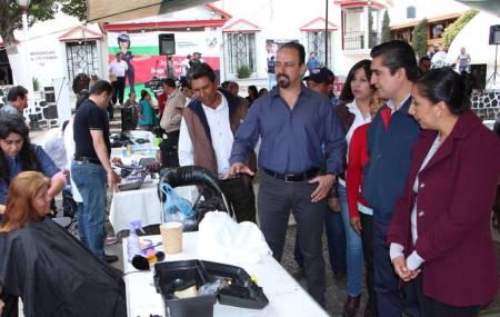 Secretaría de Seguridad Pública de Hidalgo acerca actividades a ciudadanos de Singuilucan.jpg
