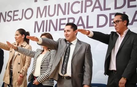 Toma protesta Comisión de Protección Civil de Mineral de la Reforma2