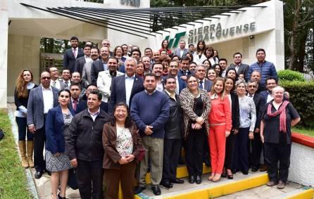 Vargas encabezó reunión de trabajo con directores generales y rectores 4
