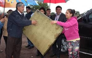Autoridades municipales y estatales apoyan a afectados por las lluvias de la semana pasada 2