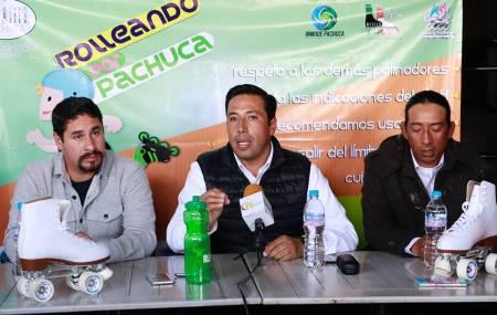 """Ayuntamiento de Pachuca llevará a cabo la primera edición del programa """"Rolleando por Pachuca""""1.jpg"""
