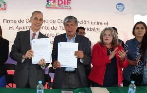 Ayuntamiento de Tizayuca y Centro Oncológico Internacional firman importante convenio de colaboración1