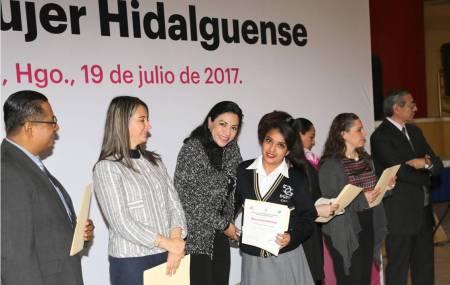 Clausura de cursos de la Casa de la Mujer Hidalguense1