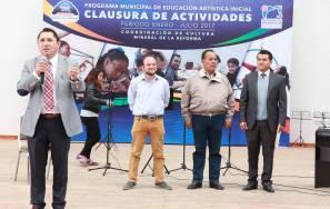 Clausuran talleres de educación artística en Mineral de la Reforma 1