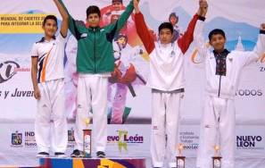 Con una plata y tres bronces cerró Hidalgo en Campeonato Nacional de TKD1
