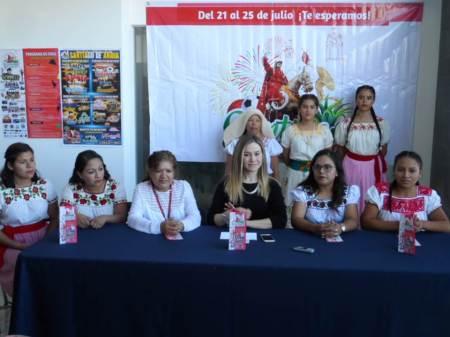 Del 21 al 25 de julio se realiza la Feria Patronal de Santiago de Anaya